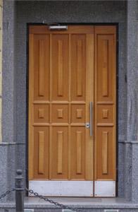 Стальная дверь из массива дуба МАС-14